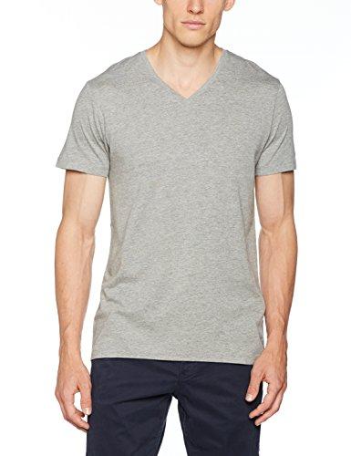 ESPRIT Herren T-Shirt 997EE2K822 Grau (Medium Grey 035), Large Preisvergleich