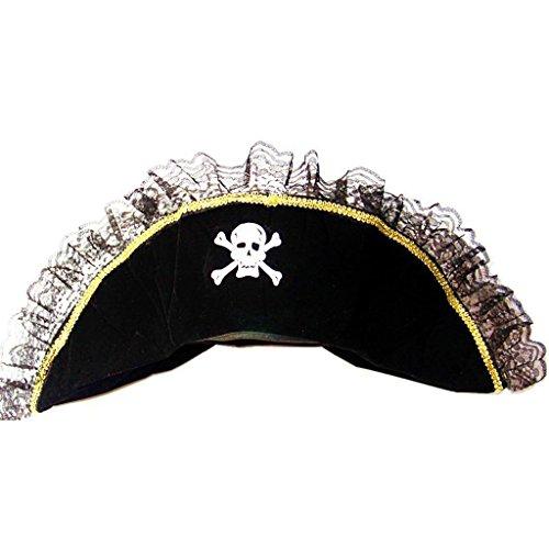 pitze-weiblicher Piraten-Hut (Weibliche Piraten Hüte)