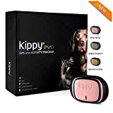 Kippy EVO | El Nuevo GPS + Actividad | para Perros y Gatos 38 gr | Waterproof | Bateria 10 dias | Pink Petal