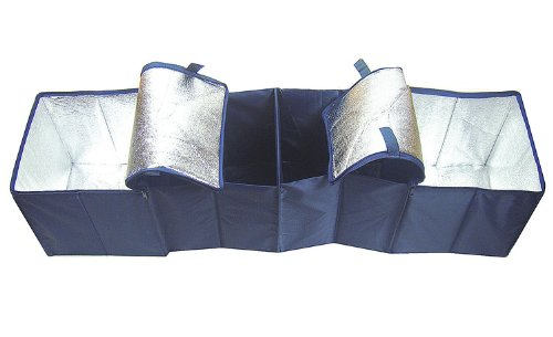 Preisvergleich Produktbild Viskey Camping-Tasche,  Ordnungssystem mit 4 großen Fächern,  2 Frischhalte-Kühltaschen