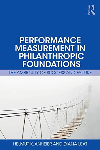 Performance Measurement in Philanthropic Foundations