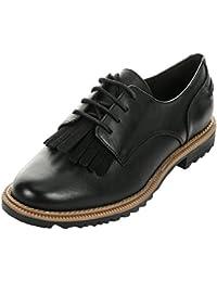 Clarks Griffin Mabel, Zapatos de Cordones Derby para Mujer
