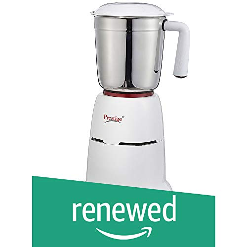 (Renewed) Prestige Hero 550-Watt Mixer Grinder with 3 Jars (White)