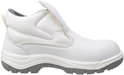 Maxguard W420, Chaussures de  Football mixte adulte Blanc (Weiß)