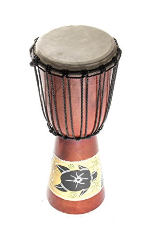 60cm-djembe-drum-tambour-super-son-bongo-tam-tam-tamtam-tortue-peindre-z2