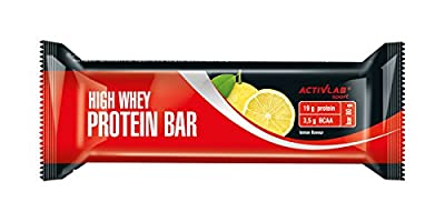ACTIVLAB SPORT 80 g Lemon High Whey Protein Bar - Pack of 24 by Regis, Sp. z o.o.