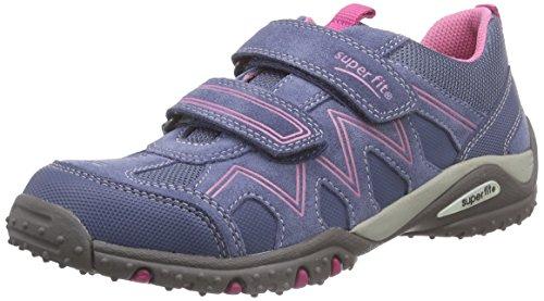 Superfit - Sport4, Sneaker basse Bambina Blu (Blau (MOONLIGHT KOMBI 91))