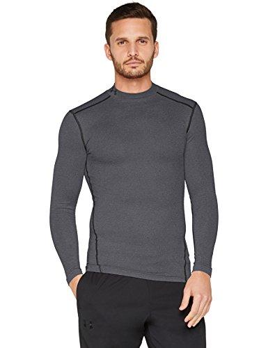 Under Armour Herren UA CG Armour Mock Fitness-Sweatshirts, Carbon Heather, L