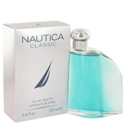 Nautica Classic Eau de Toilette Spray, 3.4 Ounce