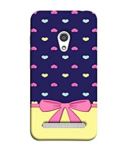 PrintVisa Designer Back Case Cover for Asus Zenfone 6 A600CG (Abstract Illustration Beauty Modern Fashion Attractive )