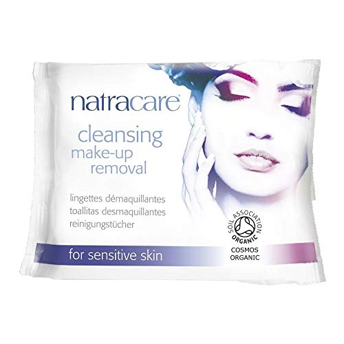 Make-up Removal Wipes (Natracare Make-Up Removal Wipes - Cleansing - 20 Count - Gluten Free - Yeast Free - by Natracare)