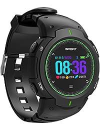 445664c61f98 smart watch Fitness Tracker 50m Impermeable Reloj Deportivo con Bluetooth  PodóMetro CaloríAs CorazóN SueñO Vigilando Fitness…