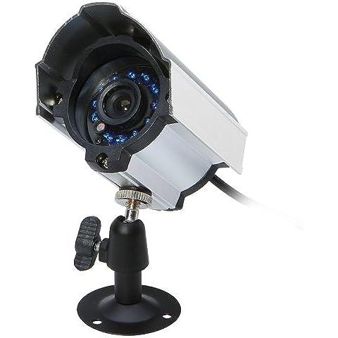 Kingzer 8ch H.264de vigilancia sistema de seguridad CCTV Kit DVR con 8Cámaras CMOS IR nocturna