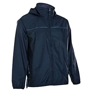 Quechua Raincut Zip Jacket, XXL (Navy)