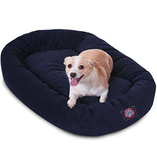 Majestic Pet Micro Velluto Bagel Dog Bed by Prodotti