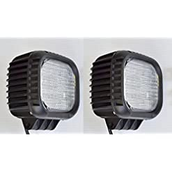2 x 48 W 12,7 cm CREE LED work Light bar flood Beam Offroad lampada DRL camion ribaltabile camper SUV trattore