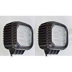 2x 48W 12,7cm CREE LED work Light bar flood Beam Offroad lampada DRL camion ribaltabile camper SUV trattore