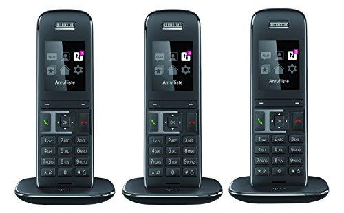 Telekom 121184 50 Titan Trio Set 5 cm (2 Zoll) Diagonale, 176 x 220 Pixel Speed-Telefon anthrazit