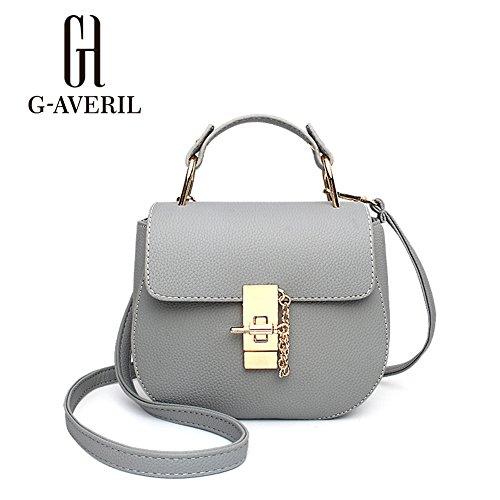 G-AVERIL, Borsa a mano donna beige Beige Grey