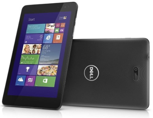 Dell Venue 8 Pro 5830 Tablet 64 GB with 3G/HSPA+ Mobile Broadband (WWAN) - (Intel Atom up to 1.8GHz Quad-Core, 2GB RAM, 64GB eMMC, WiFi, Mobile Internet WWAN O2 SimCard, BT, 2x Kameras, Windows 8.1 Pro) Wxga, 2 Gb Ram