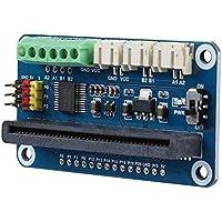 Zerone - Placa de Controlador de Motor para la BBC Micro:bit, Doble Canal DC y Triple Canal Servo Motor Placa de Controlador