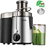 AICOK Juicer Juice Extractor Whole Fruit Juicer High Speed for Fruit and Vegetable