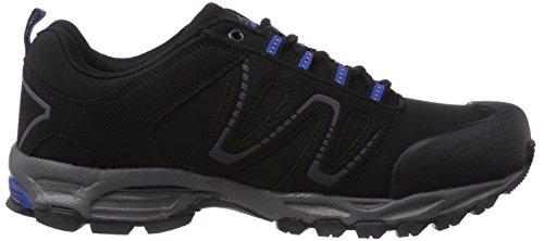 Conway 600381 Unisex-Erwachsene Trekking & Wanderschuhe Schwarz (schwarz/royal)