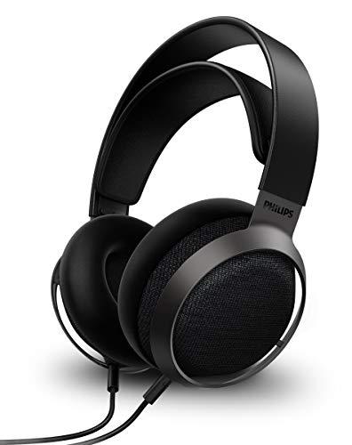 Oferta de Philips Fidelio X3/00 Auriculares Supraaurales con Cable 3 m Desmontable (Diseño Abierto, Altavoces de 50 mm, Audio de Alta Resolución, Amplio Entorno Acústico, Comodidad Ligera) Modelo de 2020/2021