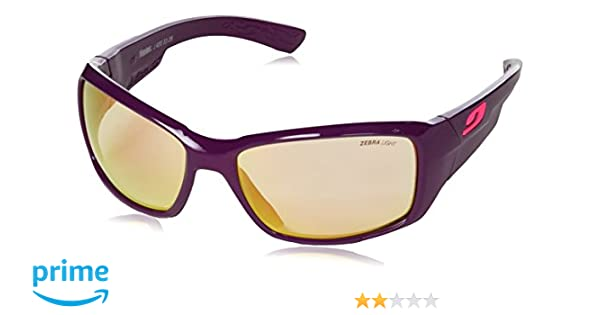 Julbo Whoops Zebra Light Sonnenbrille photochromiques Damen, pflaume glänzend
