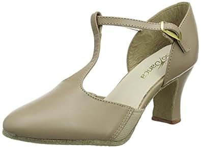 So Danca Ch57, Chaussures de Danse de Salon Femme, Noir (Black), 44/45 EU