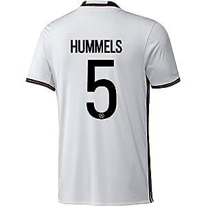 Adidas HUMMELS #5 Deutschland Fußball Heimtrikot EURO 2016