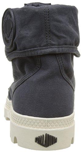 Palladium Damen Baggy Sneakers Blau (Anthracite/Marshmallow)