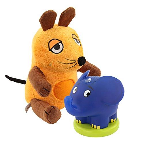 aus Kuscheltier + Sternenlicht Elefant Einschlafhilfe Kinder Babys Schlummerlied Musik Sendung mit der Maus (Wie Hält Man Mäuse)