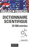 Dictionnaire scientifique anglais-français : 23500 entrées