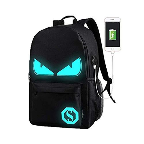 WYCY Anime Cartoon Luminous Backpack mochila de moda...