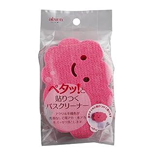AISEN BXX801 Bathtub Cleaning Sponge, Pink, 0.5 Pound