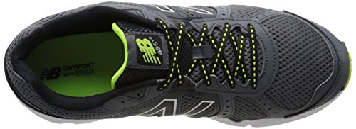 New Balance Mens ME495 Running Shoe Grey/Yellow