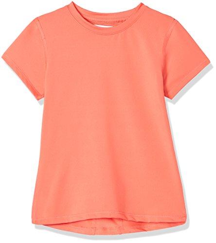 RED WAGON Mädchen Atmungsaktives Sport T-Shirt, Rot (Mandarine), 140 (Herstellergröße: 10 Jahre) Sport-bekleidung Für Kinder