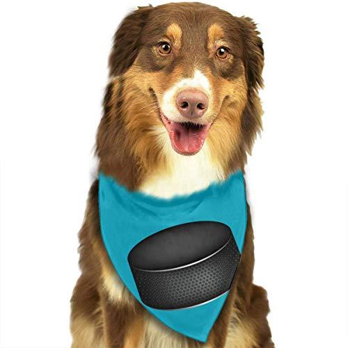 Osmykqe Dog Bandana Pet Scarf Ice Hockey Classic Cute Pet Puppy Dog Bandana Scarf Bibs