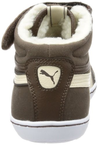 Puma Puma Avila Mid Fur Wn's, High-top femme Marron - Braun (chocolate brown-white swan 01)