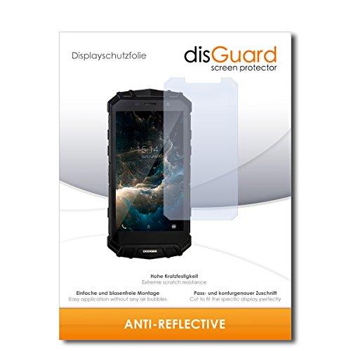 disGuard® Bildschirmschutzfolie [Anti-Reflex] kompatibel mit Doogee S60 Lite [3 Stück] Entspiegelnd, Matt, Antireflektierend, Extrem Kratzfest, Anti-Fingerabdruck - Panzerglas Folie, Schutzfolie