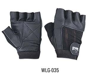 Gant cuir musculation halt rophilie w035 fitness - Fauteuil gant de boxe ...