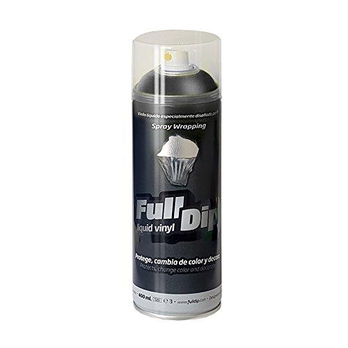 FullDip FLD0203 Vinilo Líquido, Antracita Metalizado, 400 ml