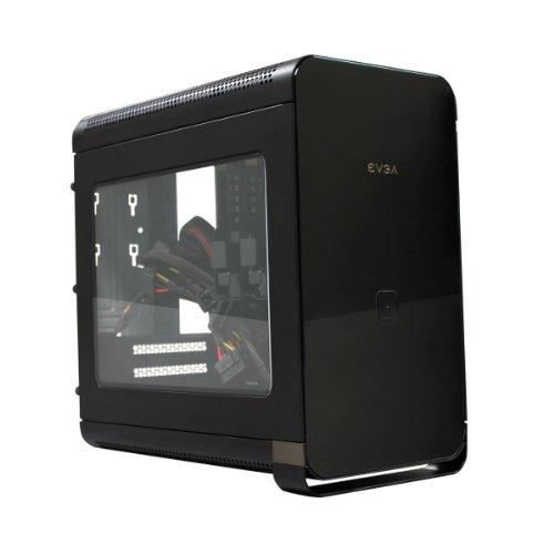 EVGA Hadron Air - Caja de ordenador de sobremesa (500 W, 2 x USB 3.0, ventana lateral), negro