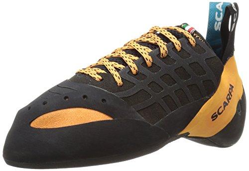 Scarpa SCARPASCARPA Instinct Climbing Shoe-U Instinct Kletterschuh Unisex-Erwachsene, Orange (schwarz/orange), 35 EU/3.5 D US