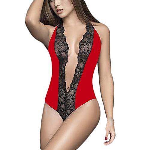 Geili Damen Spitze Nachtwäsche Mode Frauen Große Größen -