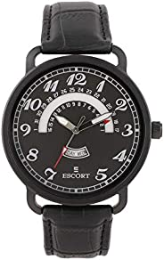 Escort Analog Black Dial Men's Watch-E 1750-7153