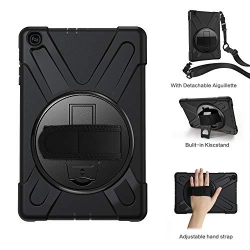 fb26e8cd304 MoKo Coque Compatible avec Galaxy Tab A 10.1 2019, 4 Couches de Protection,  Incarné