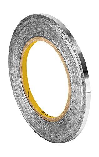 TapeCase 4380 0,63 cm x (0,25 60yd in acrilico-Nastro adesivo in alluminio, convertito 4380 da 3 m, da-30 a 300 gradi Fahrenheit Performance temperatura 8,25 cm (3,25