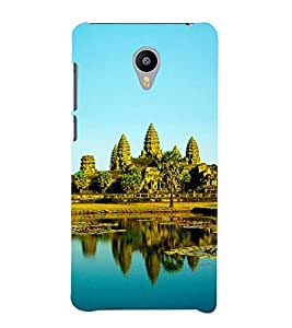 Fuson Designer Back Case Cover for Meizu M3 Note :: Meizu Note 3 (Capital Temple Buddhist Khmer temple-mountain)